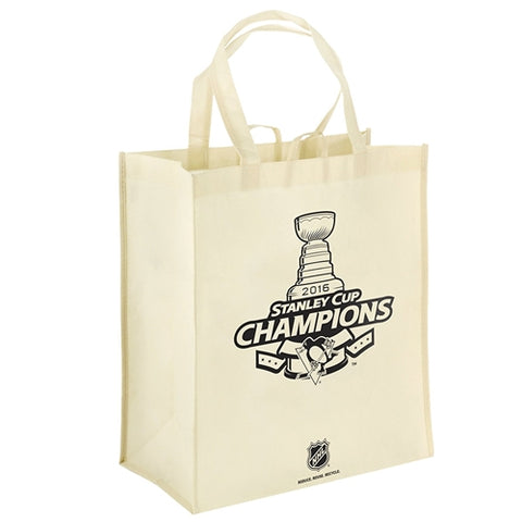 Pittsburgh Penguins NHL Stanley Cup Champions Commemorative Reusable Tote