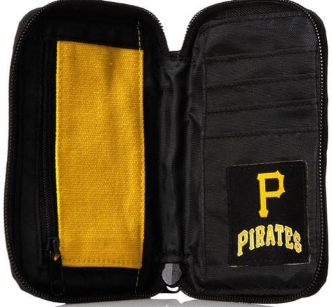 Pittsburgh Pirates MLB 4 Card & 1 Bill Slot 6x4 Carrying Case