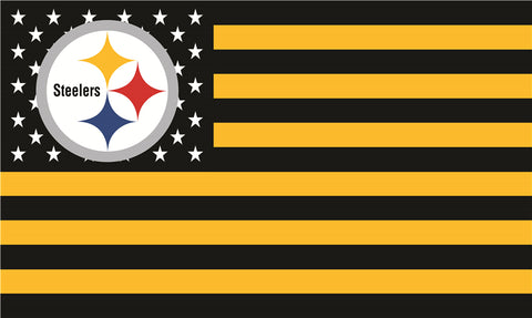Pittsburgh Steelers  Logo American NFL Flag 3ft x 5ft Polyester
