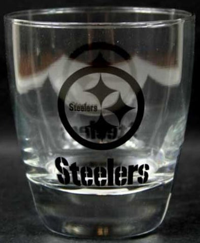 Pittsburgh Steelers NFL 13 Ounce Cocktail Glasses