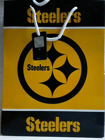 Pittsburgh Steelers NFL 13x10x5 Team Gift Bag
