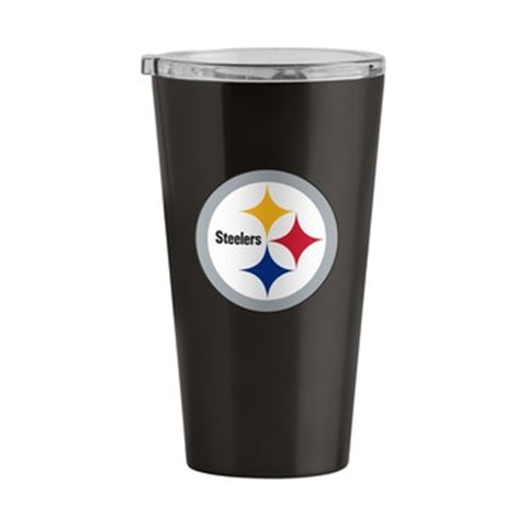 Pittsburgh Steelers NFL 16oz Gameday Pint Stainless Steel Travel Tumbler