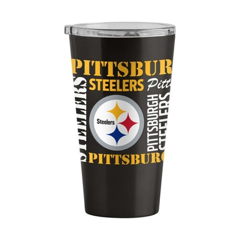 Pittsburgh Steelers NFL 16oz Spirit Ultra Pint Stainless Steel Travel Tumbler