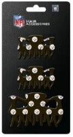 Pittsburgh Steelers NFL 3 Piece Hair Clip Set