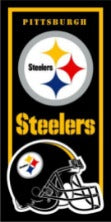 Pittsburgh Steelers NFL Cotton 30x60 Beach Towel