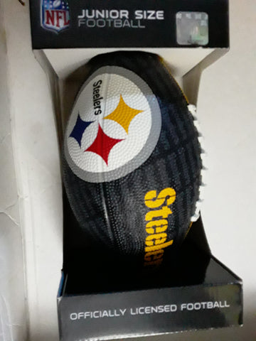 Pittsburgh Steelers NFL Gridiron Junior-Size Youth Rubber Football