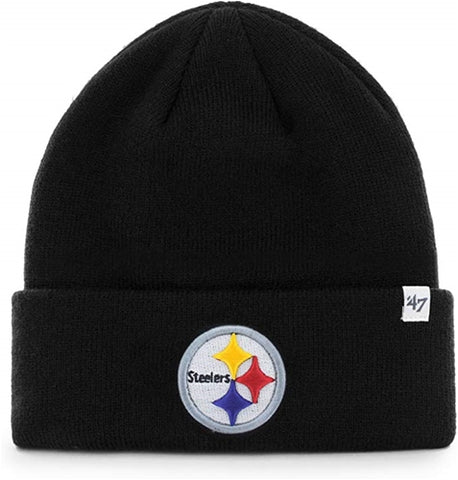 Pittsburgh Steelers NFL Raised Cuff Knit Cap