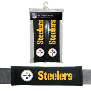 Pittsburgh Steelers NFL Seatbelt Pads Pack of 2