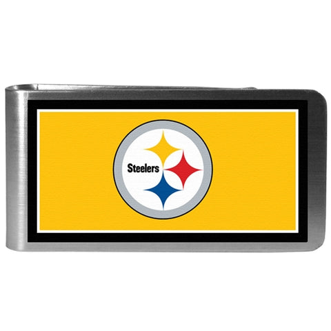 Pittsburgh Steelers NFL Steel Money Clip