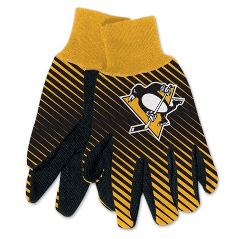 Pittsburgh Penguins NHL Full Color Sublimated Gloves