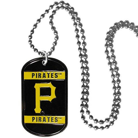 Pittsburgh Pirates MLB Dog Tag Necklace