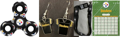 Pittsburgh Steelers 4 Item NFL Fan Bundle ONLINE ONLY