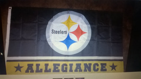 brand new e26a9 a9cb1 Pittsburgh Steelers Allegiance NFL 3x5 Foot Flag