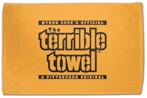 Pittsburgh Steelers Myron Copes Gold NFL 25 x 15 Terrible Bowel