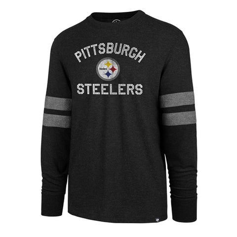 Pittsburgh Steelers NFL Club Scramble Long Sleeve Tee Shirt SIZE MEDIUM