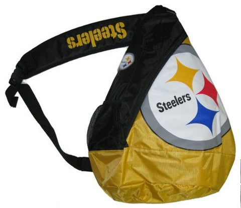 Pittsburgh Steelers NFL Core Sling Bag Backpack