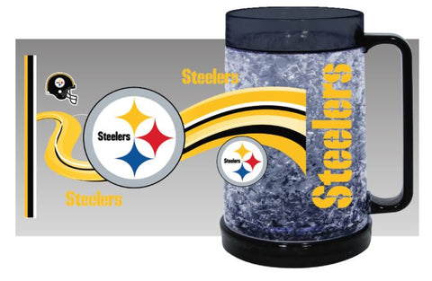 Pittsburgh Steelers NFL Large 16 Oz Freezer Mup Cup