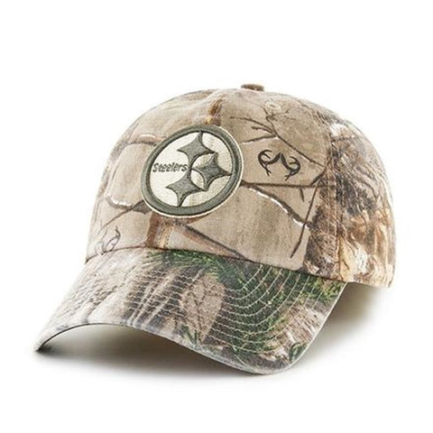 Pittsburgh Steelers NFL Realtree Franchise Fitted Cap Hat Size