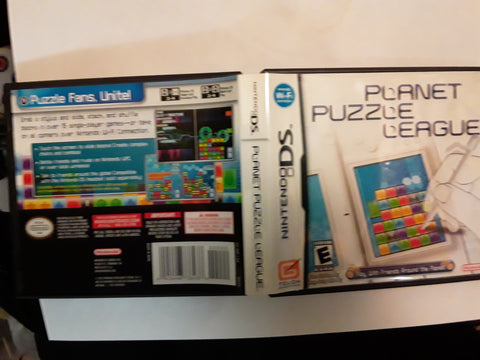 Planet Puzzle League Used Nintendo DS Video Game