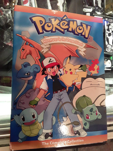 Pokemon Adventures in the Orange Islands Used DVD Movie Complete Collection