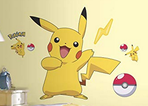 Pokemon Iconic Peel and Stick 12 Wall Decals