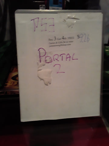 Portal 2 Used PS3 Video Game
