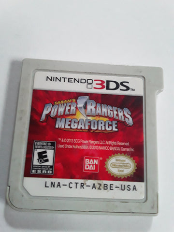 Power Rangers Mega Force Used Nintendo 3DS Video Game