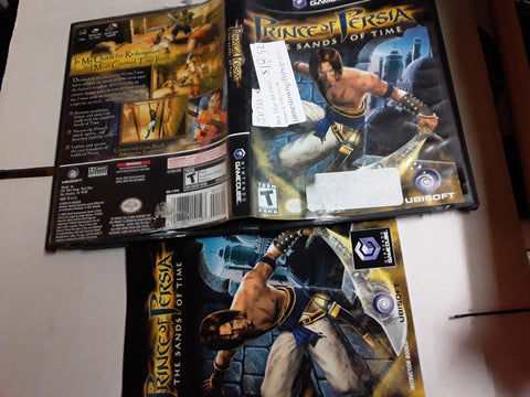 Prince of Persia Sands of Time Used Nintendo Gamecube Video Game