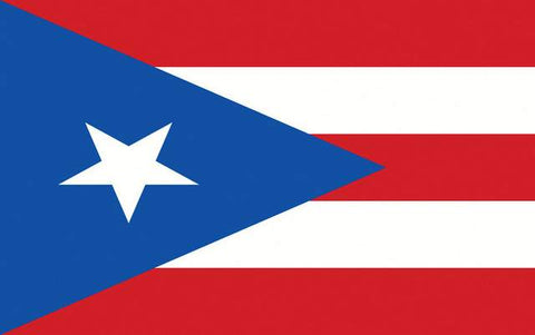 Puerto Rico Banner 3ft x 5ft Polyester Flag