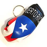 Puerto Rico Boxing Glove Key Chains
