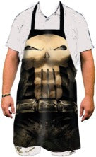 Punisher 27.5x31.5 Marvel Skull Apron