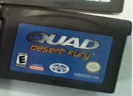 Quad Desert Fury Used Gameboy Advance Video Game