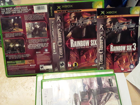 Rainbow Six 3 Used Original Xbox Video Game
