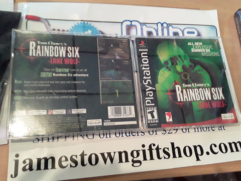 Rainbow Six Lone Wolf Used Playstation 1 Video Game