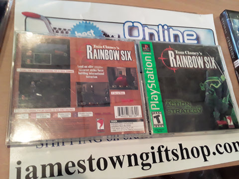 Rainbow Six Used Playstation 1 Video Game