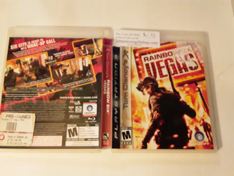Rainbow Six Vegas 1 Used PS3 Video Game