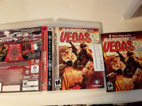 Rainbow Six Vegas 2 Used PS3 Video Game