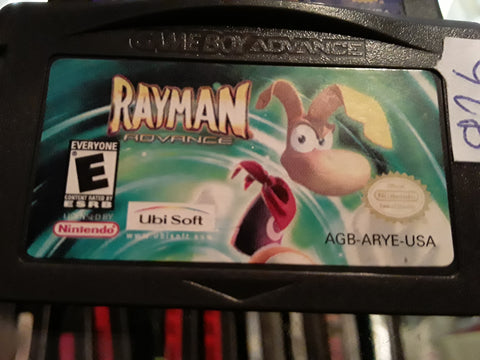 Rayman Advanced Used Gameboy Advance Video Game