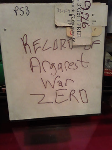 Record of Agarest War Zero Used PS3 Video Game