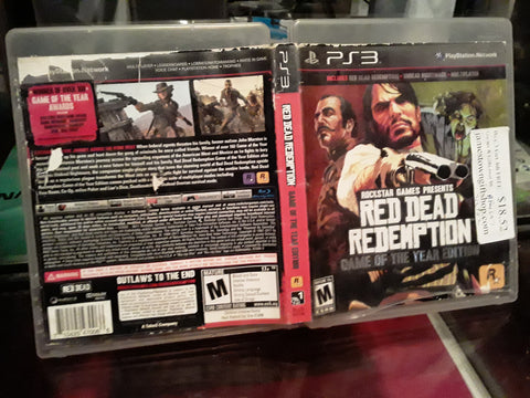 Red Dead Redemption Game of the Year Edition Used PS3 Video Game