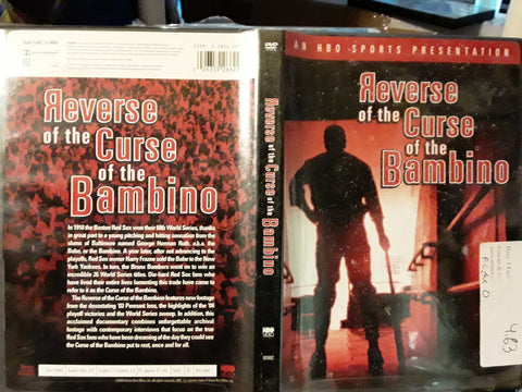 Reverse of the Curse of the Bambino Boston Red Sox MLB DVD Movie