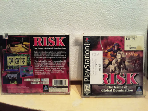 Risk Used Playstation 1 Game