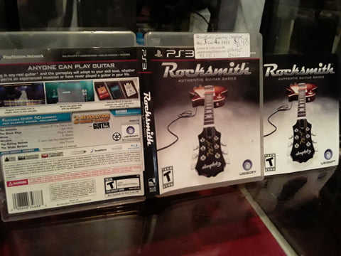 RockSmith Used PS3 Video Game