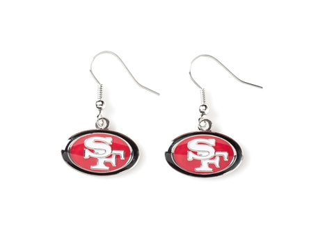 San Francisco 49ers NFL Dangle Earrings