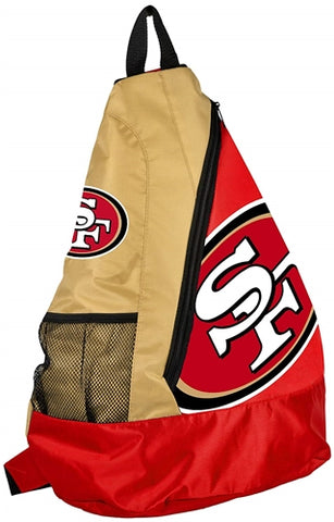 San Francisco 49ers NFL Core Sling Bag Shoulder Back Pack