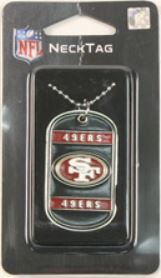 San Francisco 49ers NFL Dog Tag Necklace