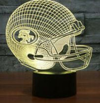San Francisco 49ers NFL LED Helmet Light