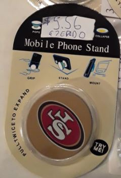 San Francisco 49ers NFL Pop Socket Phone Stand / Holder