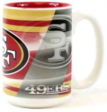San Francisco 49ers NFL Shadow Style 15 OZ Mug
