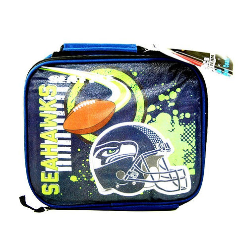 Seattle Seahawks NFL Insulated Accelerator Style Lunch Bag